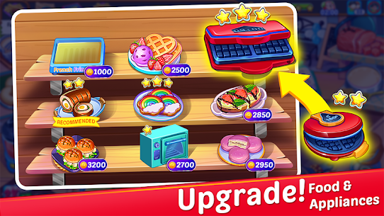 Cooking Express : Star Restaurant MOD (Unlimited Money) 3