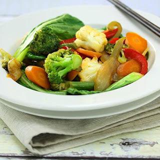Vegetable Stir Fry.
