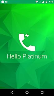 Hello Platinum - náhled