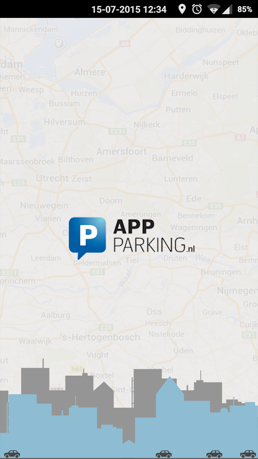 App-Parking 2016- screenshot