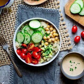 Chickpea & Quinoa Buddha Bowl Recipe