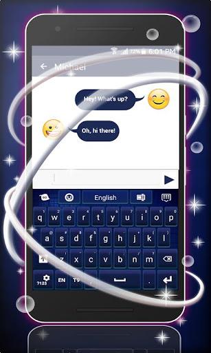 GO键盘深蓝色主题