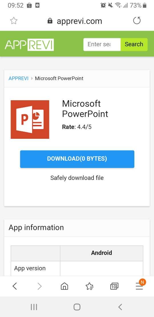 download PowerPoint apk