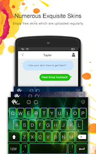 Flash Emoji Keyboard - náhled