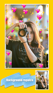 Emoji background changer – emoji photo editor 2