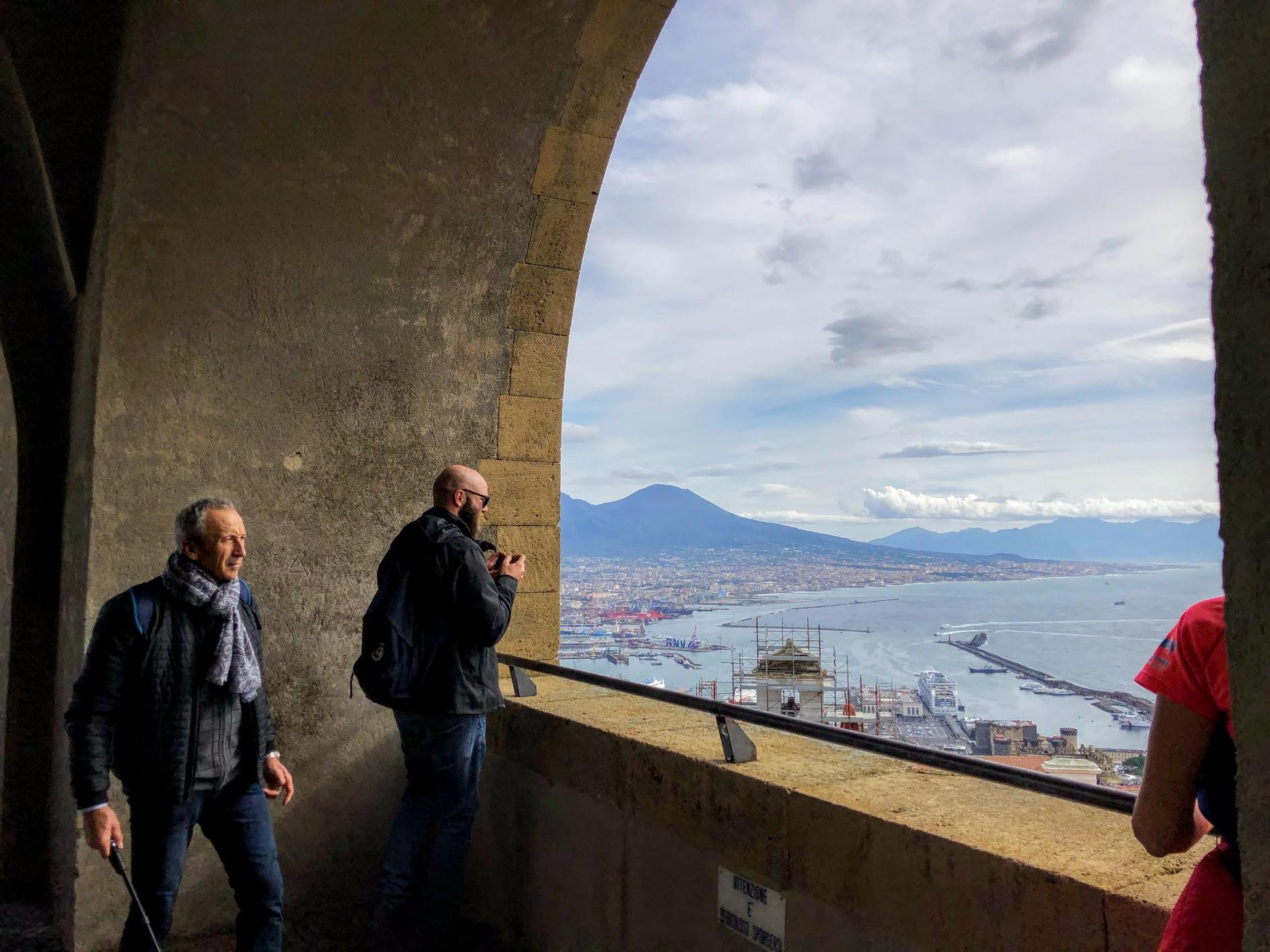 Napoli vista dall'alto