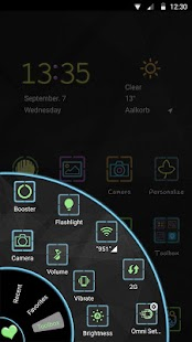 Neon Markers - Launcher Theme - náhled