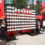 Chanel matsuri promo in Roppongi in Tokyo, Tokyo, Japan