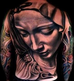 3D nápady designu tetování - náhled