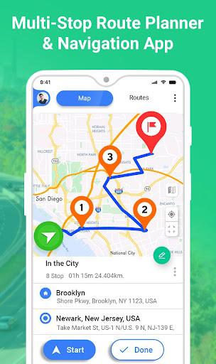 GPS Route Planner 1.2.6 screenshots 1