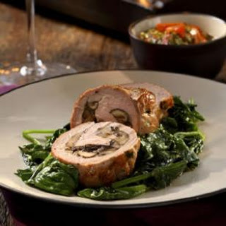 Pork Tenderloin Stuffed with Porcini Mushrooms