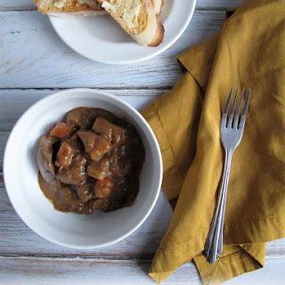 Porter, Caramelized Onion, & Beef Stew.