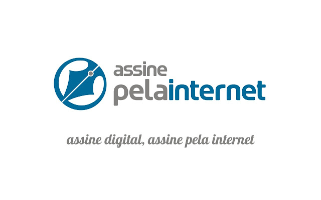 Assinatura Digital: ASSINE PELA INTERNET