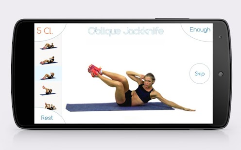 Best Abs Fitness: abdominal exercises fitness app- screenshot thumbnail