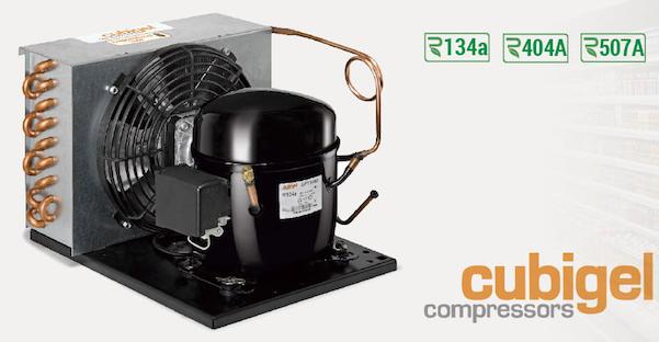 unidades condensadoras CUBIGEL