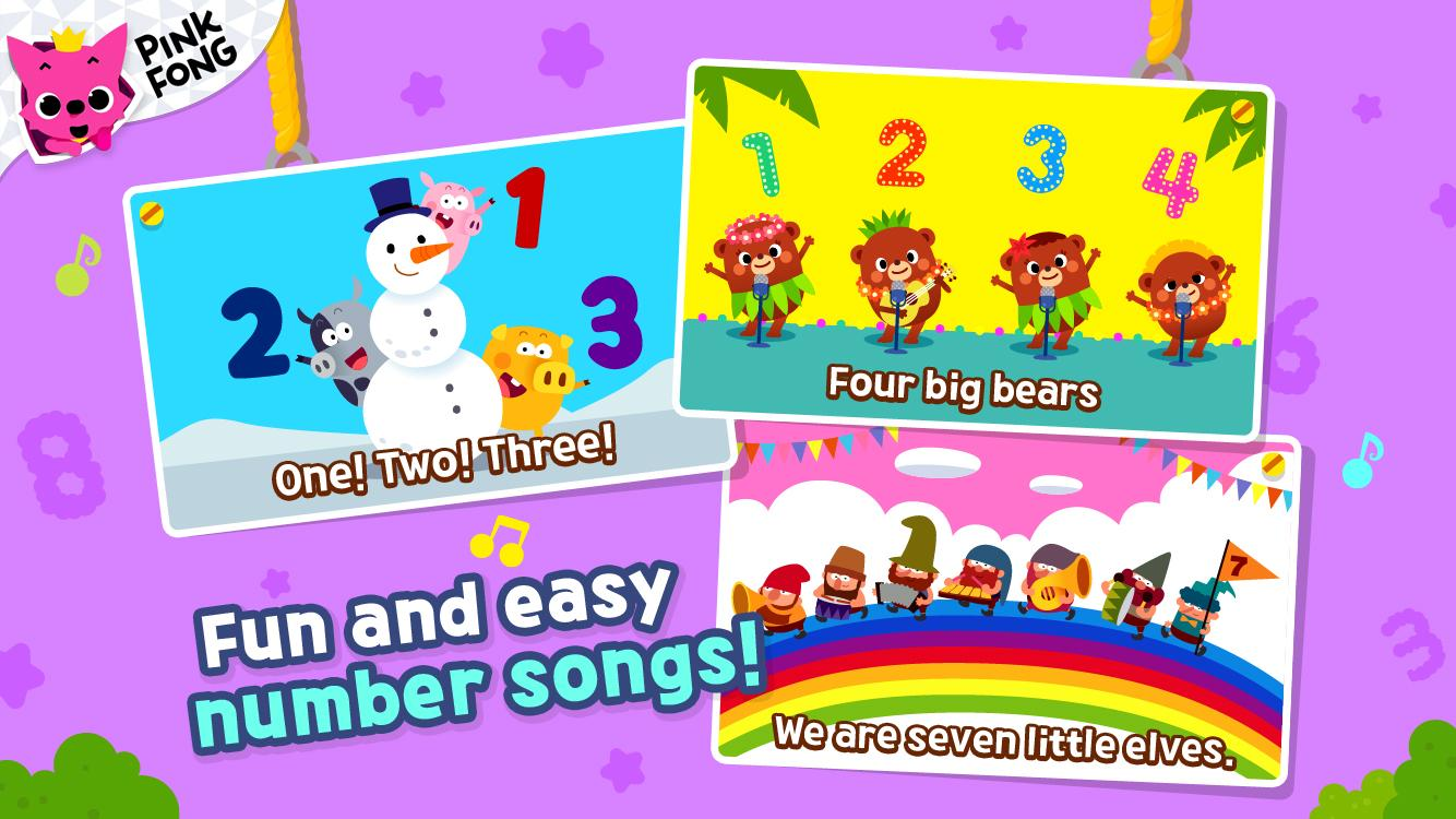 PINKFONG 123 Numbers- screenshot