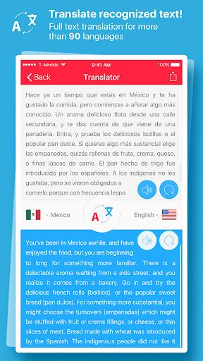 Scan & Translate + Text Grabber 2.0.0 screenshots 2