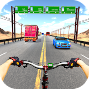 Bicycle Racing Highway Stunt Racer Game 2018