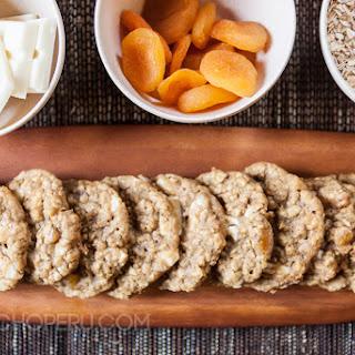 White Chocolate Apricot Oatmeal Cookies