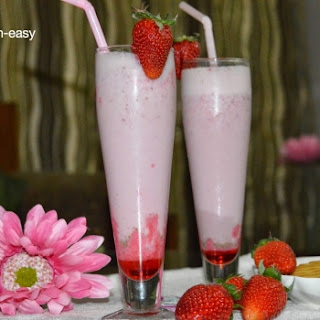 Strawberry Vanilla Shake.