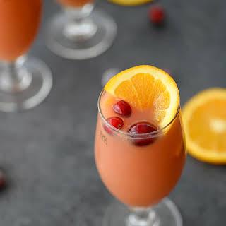 Cranberry Orange Beer Shandy.