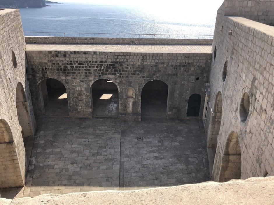 Inside Fort Lovrijenac, Dubrovnik