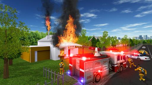 Fire Truck Game Screenshot