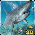 Angry Sea White Shark Revenge