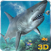 Hungry White Shark Revenge 3D
