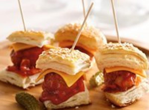 Yummy Mini Bbq Burgers Recipe