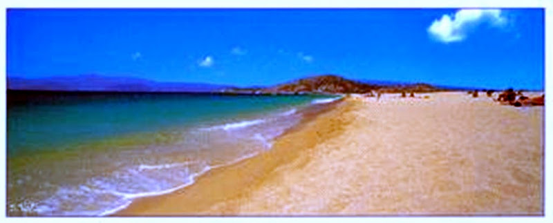 Photo: Agios Prokopios Beach , Naxos island , Cyclades - Greece