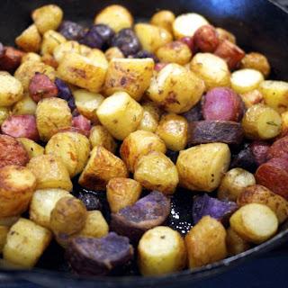 Duck Fat Potatoes – Pomme de Terre Sarladaise.