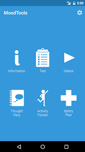 MoodTools - Depression Aid screenshot for Android