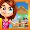 Dream Home Cleaning: Princess House Clean up Games icon