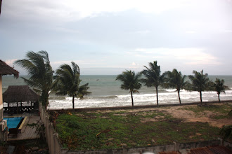 Photo: Year 2 Day 21  -   View of the Sea from our Hotel (Hai Yen) in Mui Ne