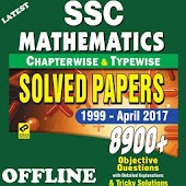 SSC Mathematics Chapter Wise Solved Paper 1999-17