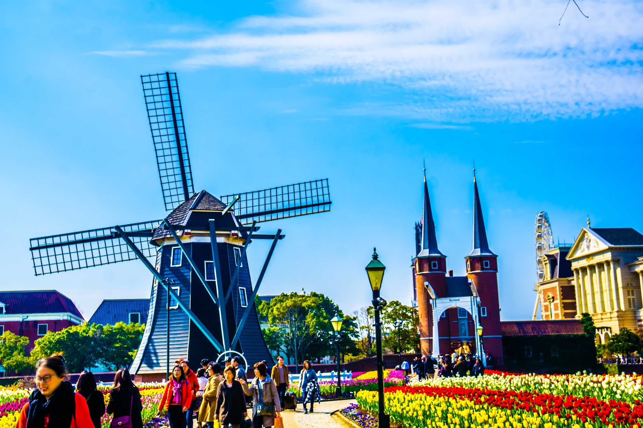 Huis Ten Bosch Flower Road1