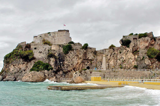 Moorish fortifications in Gibraltar signal the contested nature of the region over the centuries.