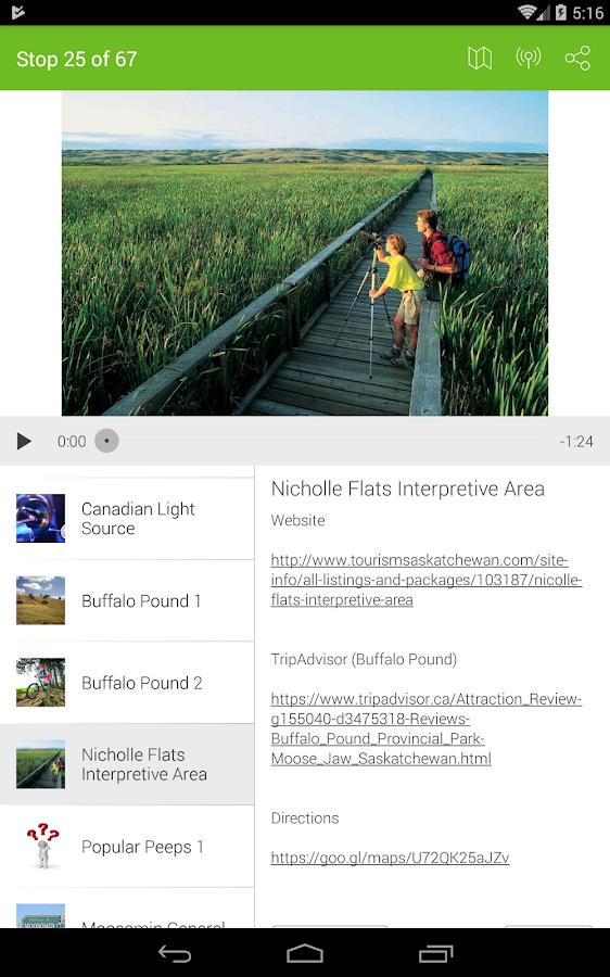 Screenshots of Tripvia   GPS Trivia Tours for iPhone