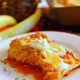 Leftover Turkey Enchiladas Recipe
