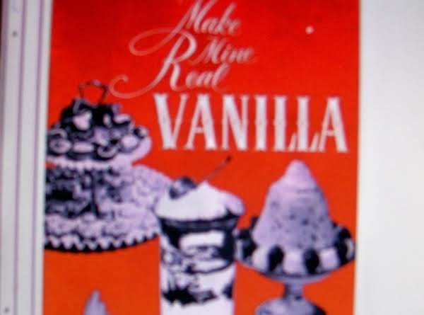 Vanilla Homemade By Freda Recipe