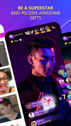 Screenshot for Uplive - Live Video Streaming App in Hong Kong Play Store