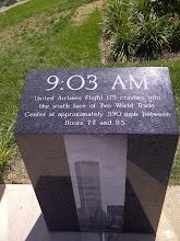 Photo: 9/11/2001 Monument, Athenaeum walk, Indianapolis IN