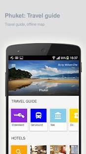 Phuket: Offline travel guide - náhled
