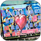 Download Love Kiss Graffiti Keyboard theme For PC Windows and Mac