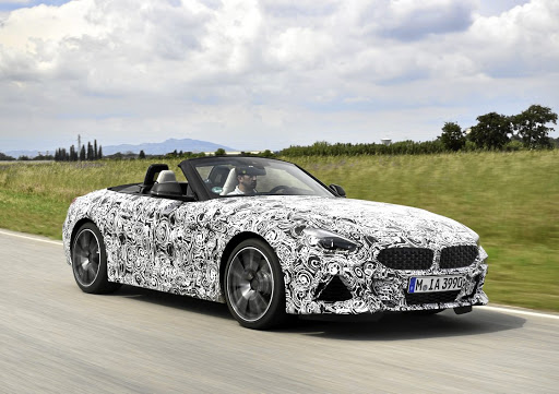 BMW is continuing development on its new Z4.