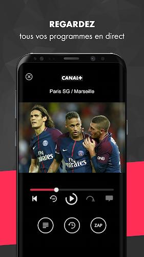 myCANAL, vos programmes en live ou en replay Android App Screenshot