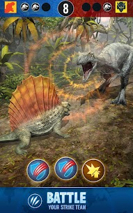 Jurassic World™ Alive 1.2.29 MOD (Unlimited Battery/VIP) 3