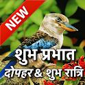 Hindi Good Morning Afternoon & Good Night Wishes icon