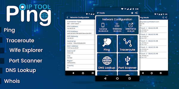 Ping Tools - Network Utilities 1 3 (Mod Ad-Free) APK for Android